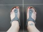 Smutsiga fötter